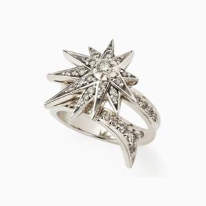 טבעת GENESIS קטנה בזהב אצילי ויהלומים