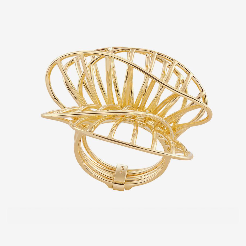 טבעת GRUPO CORPO בזהב צהוב