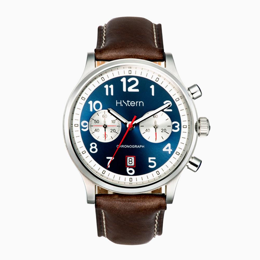 HS ID oversized עם לוח שעון כחול